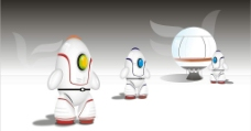 太空机器人图片