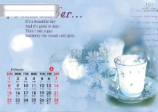 2009年日历模板_2009年台历psd模板_激情飞扬_甜蜜时光(全套共13张含封面)