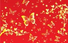 蝴蝶底纹图片