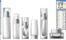 化妆品瓶子图片