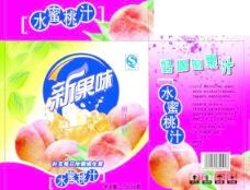 水蜜桃包装箱图片