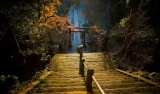 日本寺庙神道图片