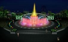 喷泉动画图片