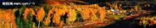 新疆的自然村落图片