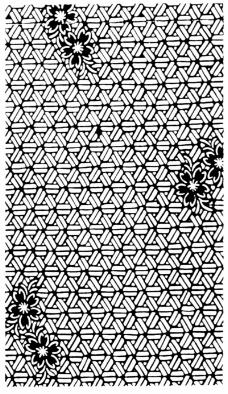 几何花纹0376