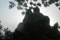 夫妻峰图片