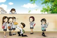 韩国HARU可爱插画图片