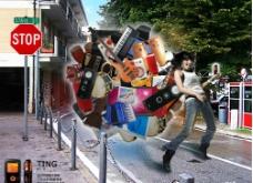 IPOD音乐播放器广告图片
