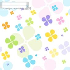 矢量背景花色素材1