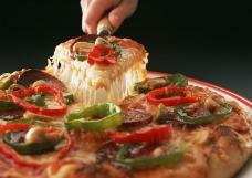 意大利面披萨沙拉0149