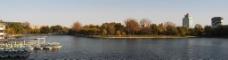 秋天的陶然亭公园图片