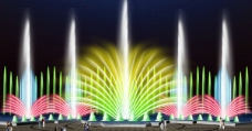 喷泉效果图图片