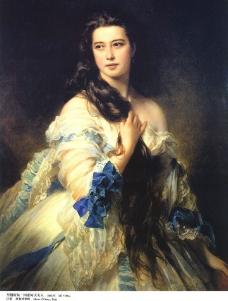 里姆斯基·柯萨柯夫夫人图片