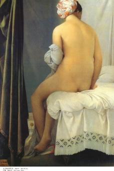 瓦品松的浴女图片