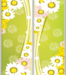 葵花 移门图案图片