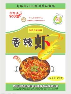 香辣虾包装图片
