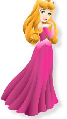卡通公主图图片