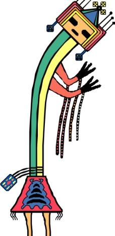 卡通动物素材,高清 装饰画 复古 原生态 儿童 小孩房