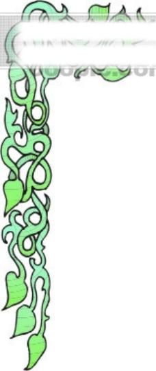 美式花纹边框17