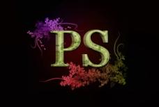 简单PS字体设计