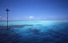 蔚蓝海域图片