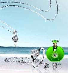 花好月圆主题精品钻石饰品系列图片