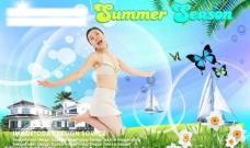 夏日风情图片