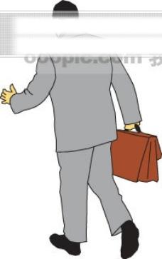 商务人物矢量图