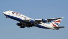 波音747飞机图片
