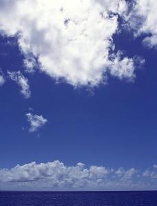 蔚蓝的海洋图片