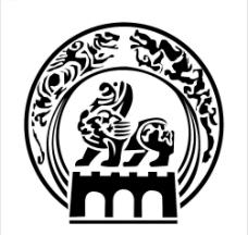 金陵石狮 矢量图片