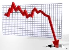 股市大跌图片