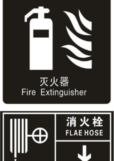 火警安全标识矢量素材