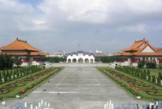 台灣台北中正紀念堂中軸廣場图片