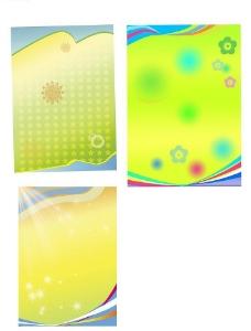 三块春天背景图片
