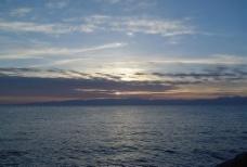 青海湖的早晨图片