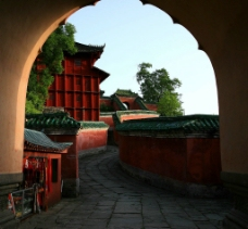 九曲黄河墙图片