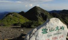 台灣苗栗縣:雪霸國家公園雪山主峰图片