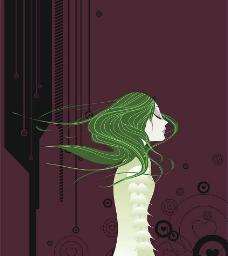 情感小说插画——BABALA的烈焰图片