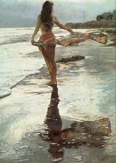 美国水彩画家 作品 60图片