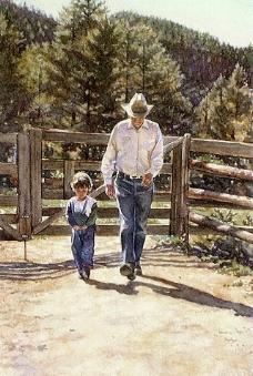 美国水彩画家 作品 58图片