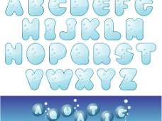 水晶字母图片