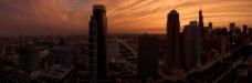 黄昏的城市图片