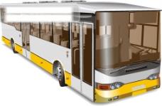 大巴公共汽车矢量素材