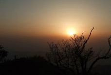 梵净山夕阳图片