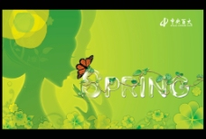 Spring 春吊旗图片