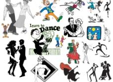 人物舞蹈图片