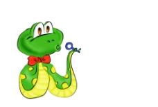 卡通蛇图片