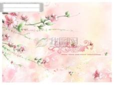 情牽桃花源 婚紗模板 浪漫 婚紗 模板 愛情 粉紅 花 可愛 美麗 漂亮 韓國 甜蜜 源文件庫 情牽桃花源 攝影模板 婚紗攝影模板
