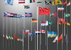 各国国旗PSD图片